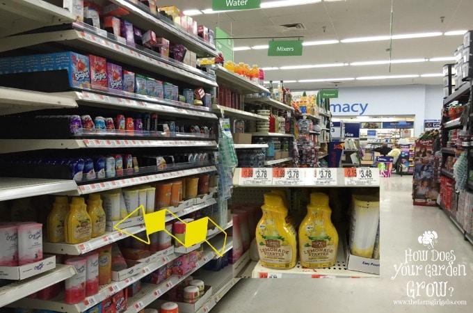 Country Time Lemonade Starters - WalMart