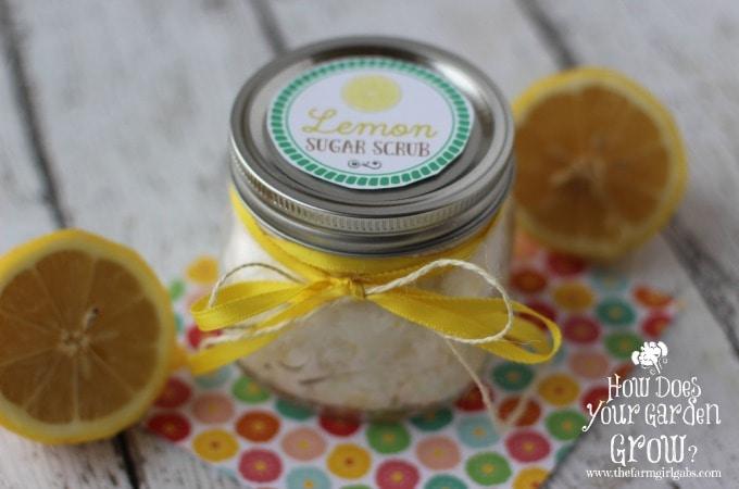 Lemon Sugar Scrub - Feature 1