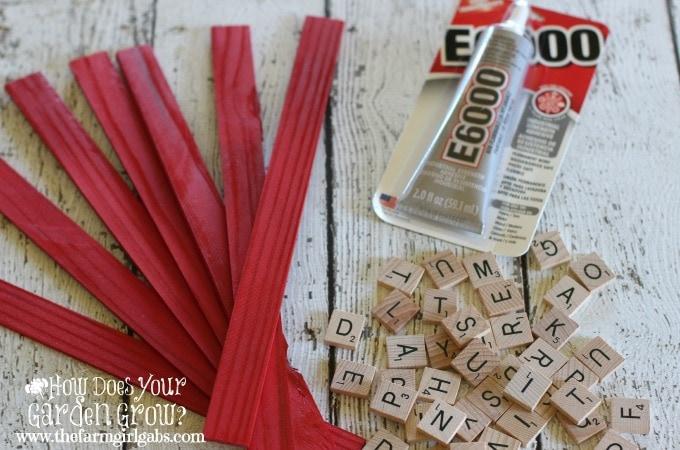 Letter Tiles - Step 2