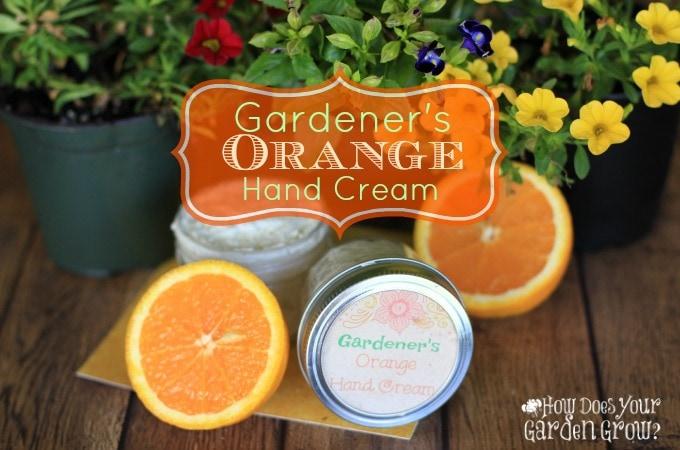 Gardener's Orange Hand Cream