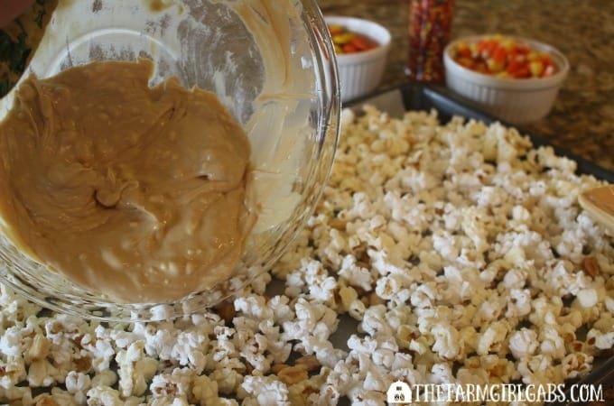 Candy Corn Popcorn - Step 2