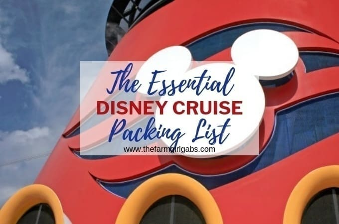 The Essential Disney Cruise Packing List