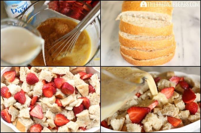 Strawberry French Toast Casserole