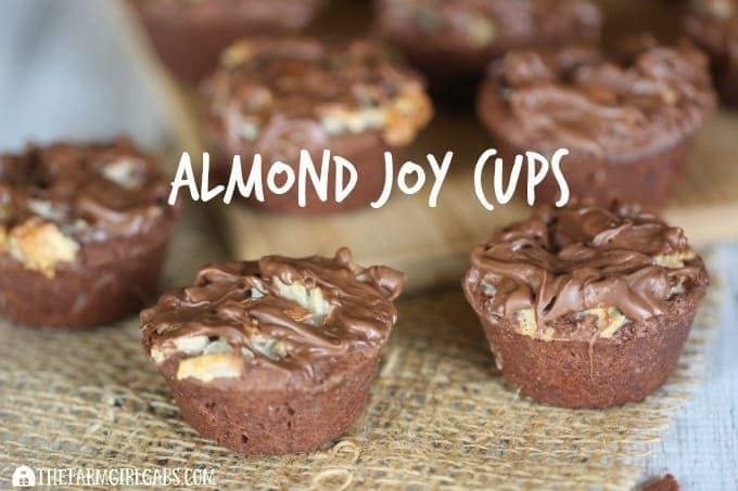Almond Joy Cups