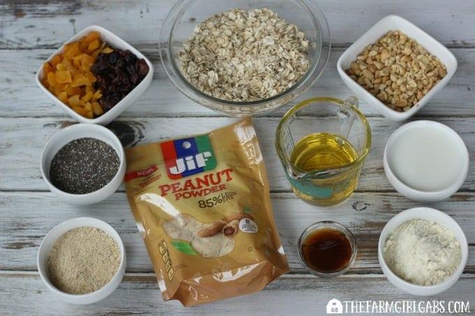 Fruit & Nut Bars Ingredients