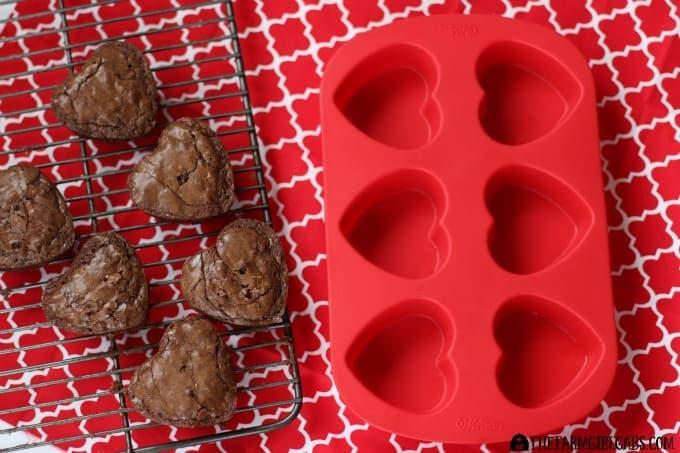 Brownie Conversation Hearts