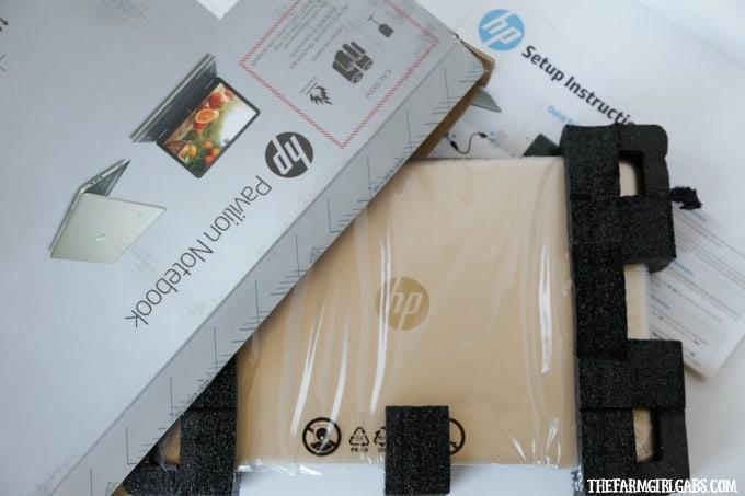 HP Pavillion Notebook Unpackaging