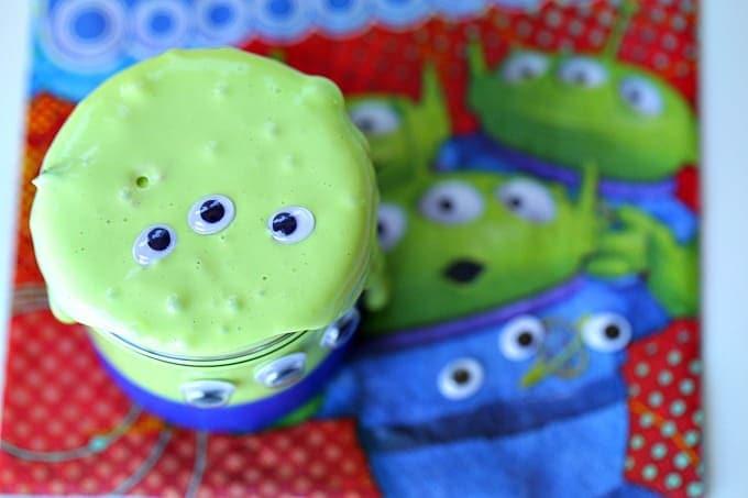 Glow In The Dark Toy Story Alien Slime