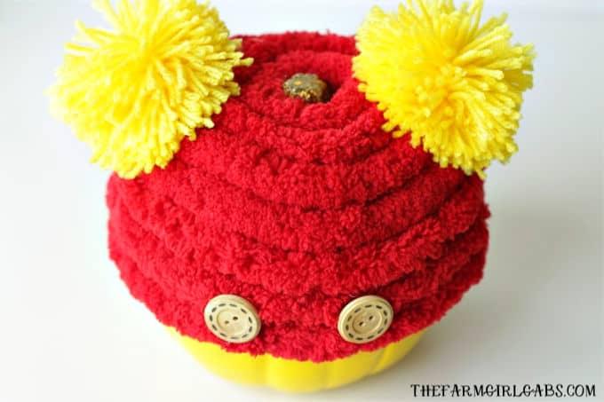 Make Your Own Winnie The Pooh Pumpkin