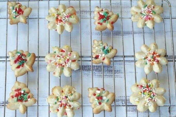 The Best Spritz Cookies