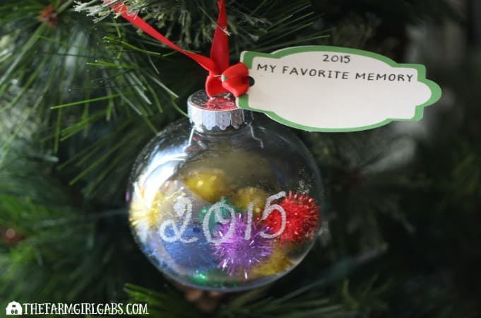 Inside Out Memory Ornament
