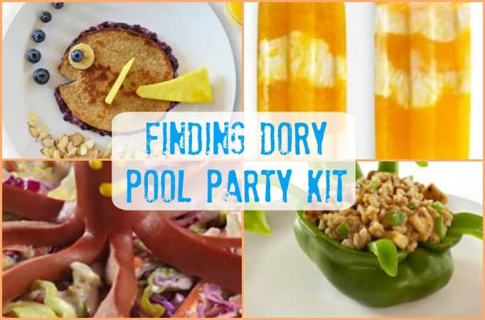 Celebrate Summer With Finding Dory Pool Party Kit And Recipes