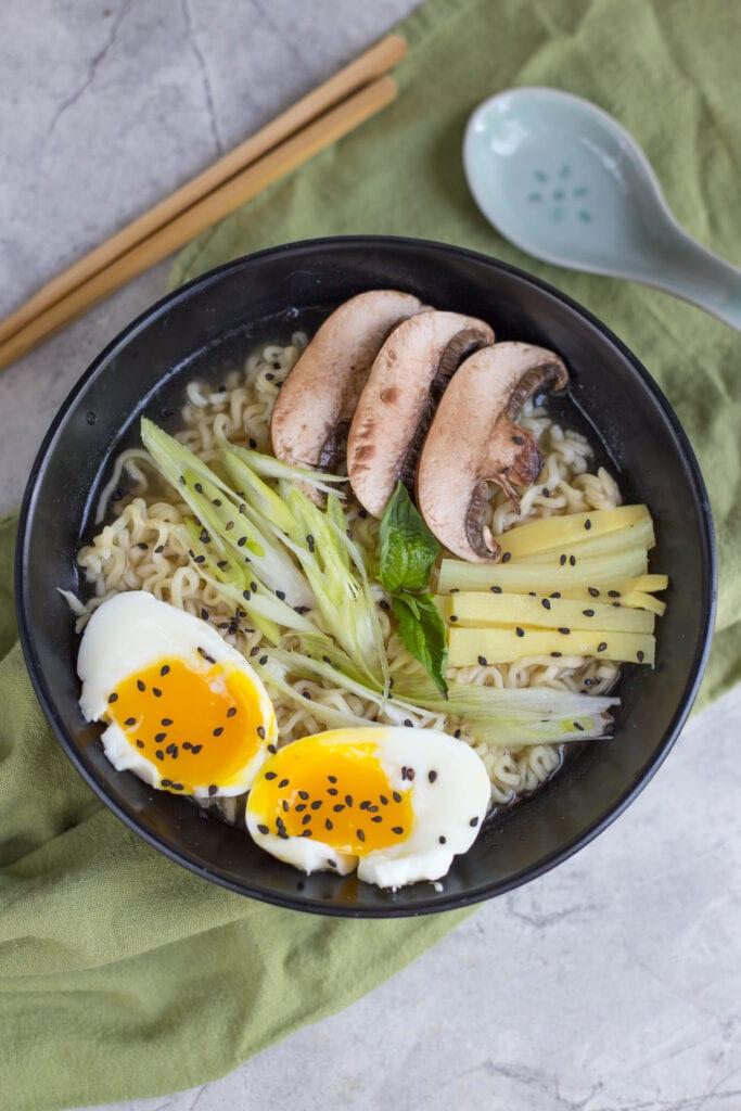 Instant Pot Tonkotsu Ramen from The Crumby Kitchen   Instant Pot Recipes