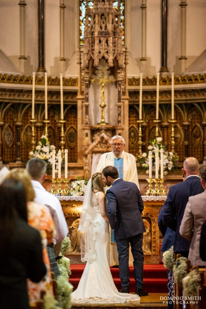 Wedding Ceremony at Sacred Heart Church, Hove