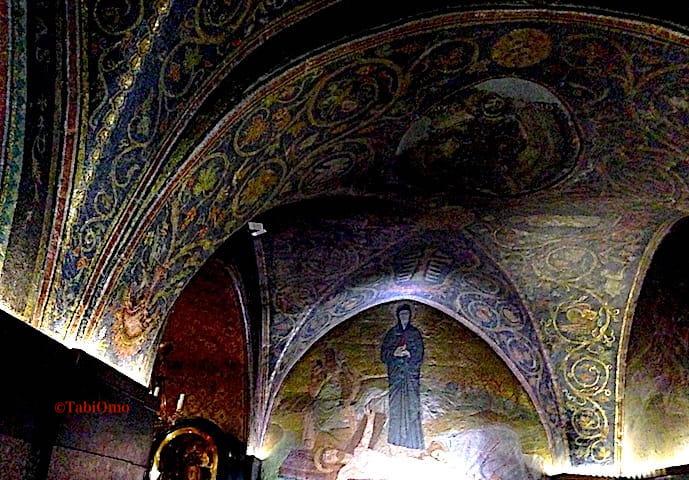 イエスとマリア像の画像