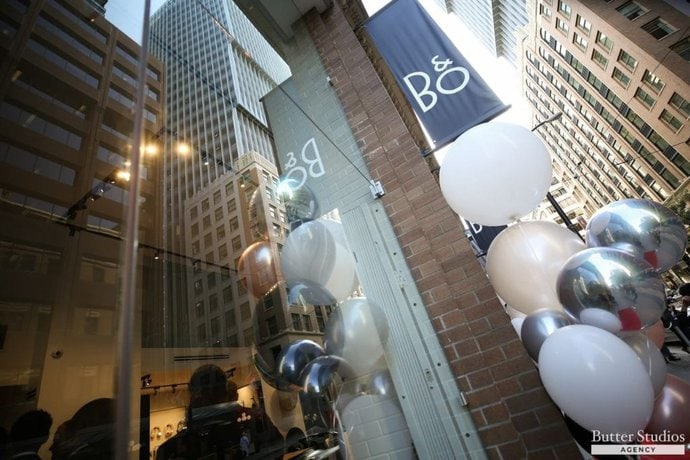 Bang & Olufsen Vancouver Store Grand Opening