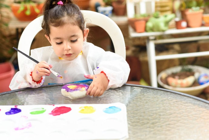Art therapy, child psychology, art, psychological therapies, child art painting