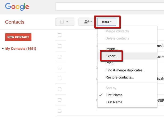 Export Google Contacts_5