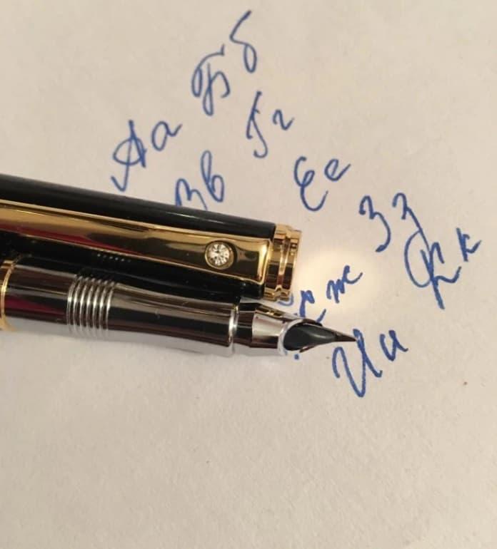 AliExpress MontBlanc Fountain Pen Replica Clone Alternative Cheap Deli 1