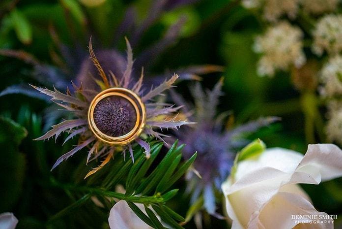Thistle Wedding Rings