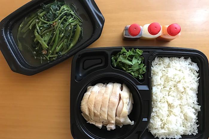 海南鶏飯食堂チキンライスのテイクアウト画像