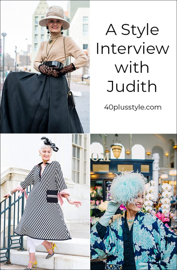 A Style Interview with Judith | 40plusstyle.com