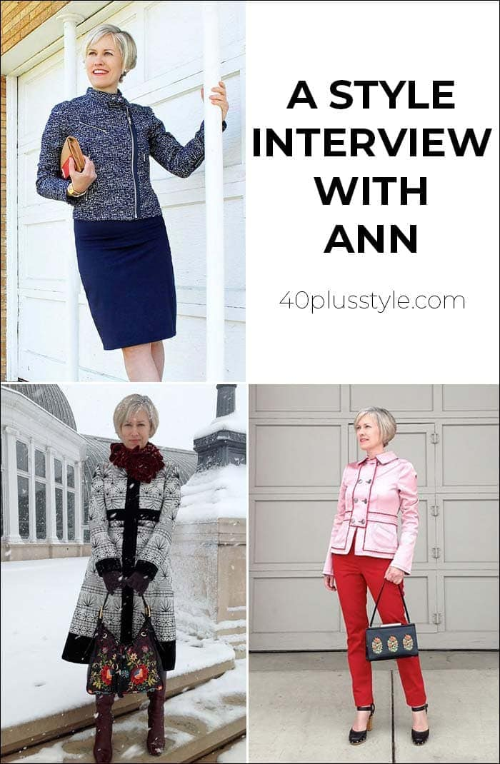 A style interview with Ann   40plusstyle.com