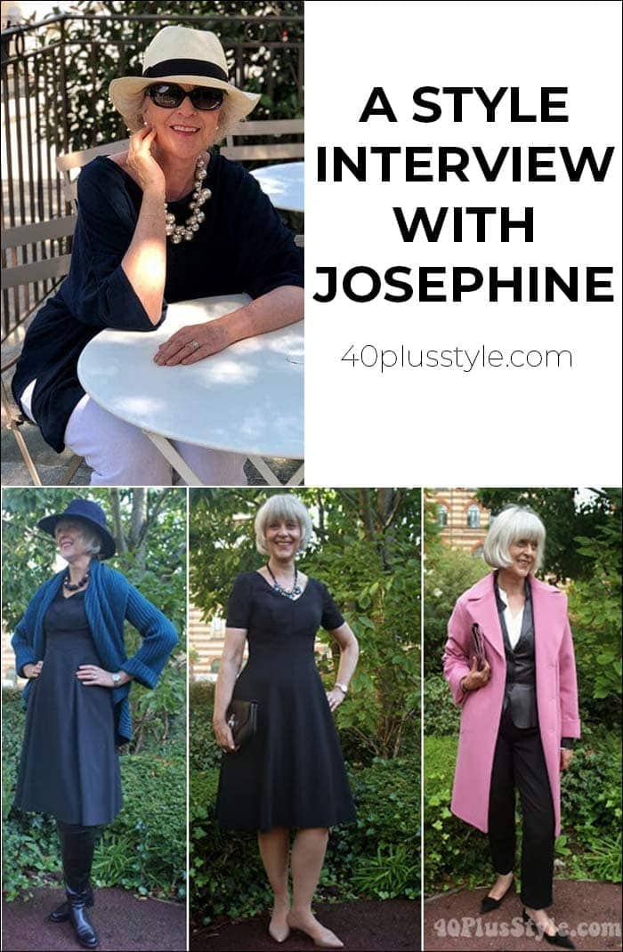 A style interview with Josephine | 40plusstyle.com