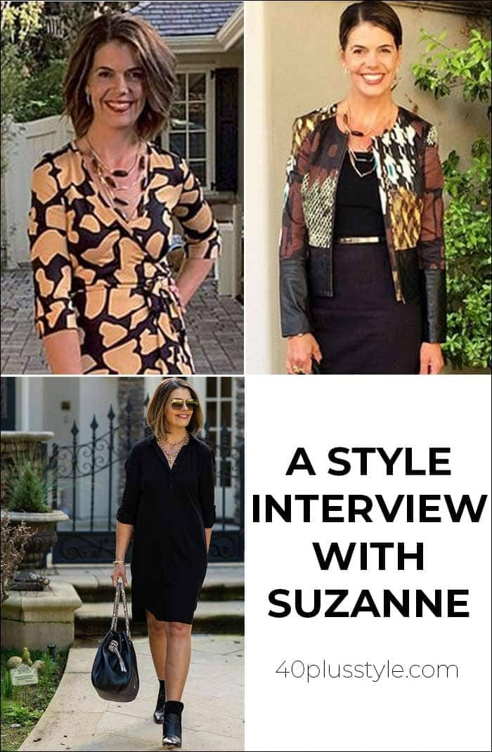 A style interview with Suzanne   40plusstyle.com