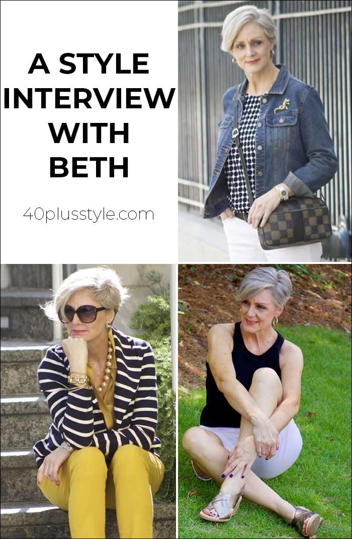 A style interview with Beth   40plusstyle.com