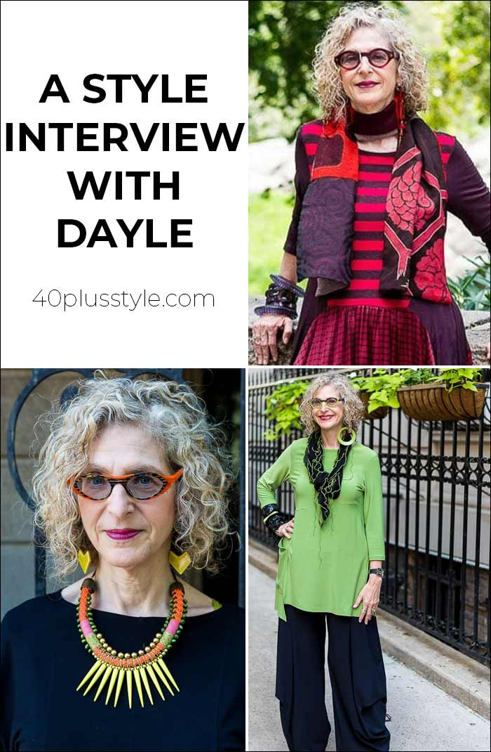 A style interview with Dayle   40plusstyle.com