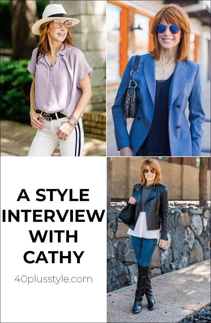 A style interview with Cathy   40plusstyle.com
