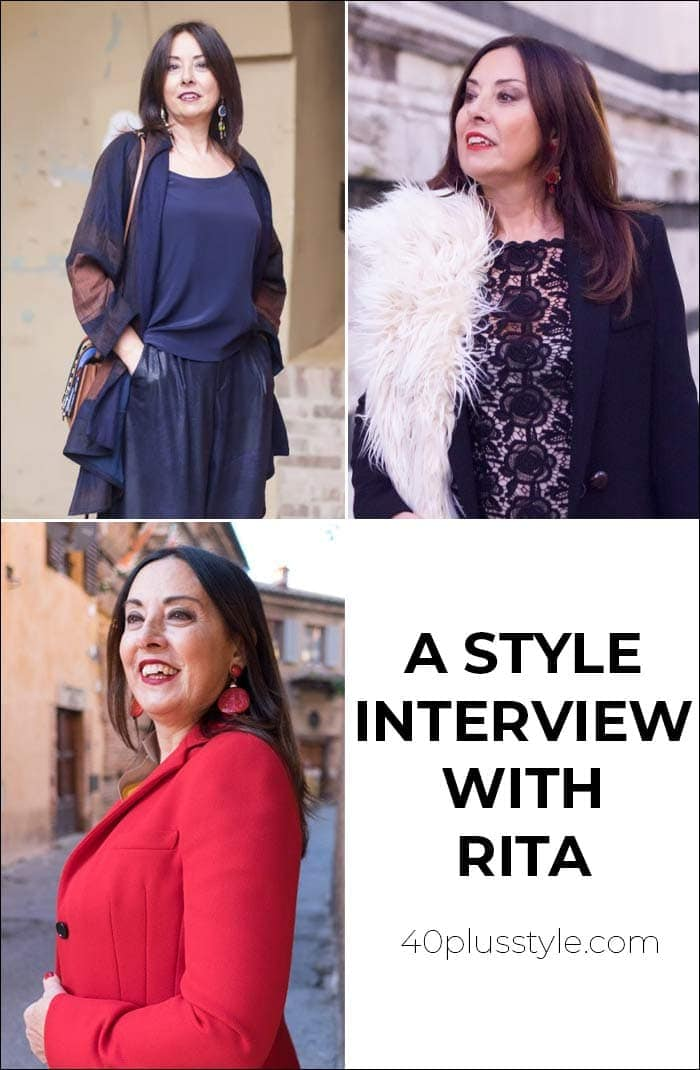 A style interview with Rita | 40plusstyle.com