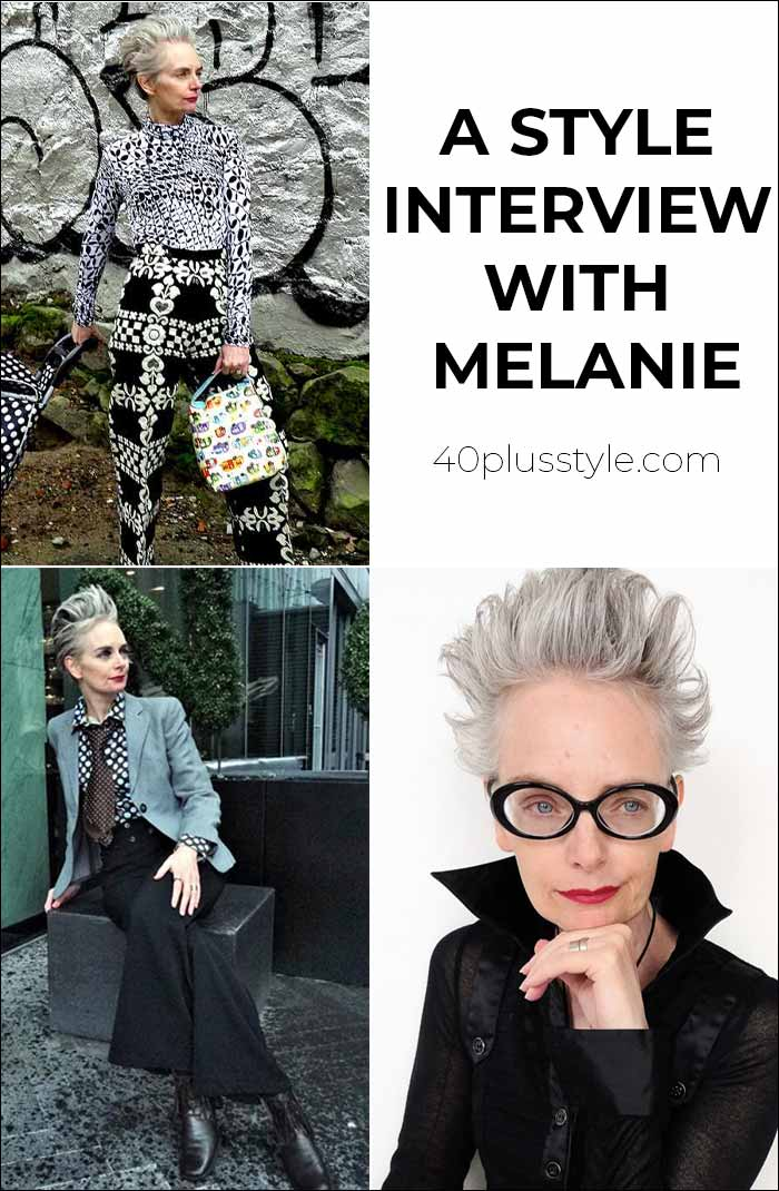 How to be more creative with your outfits: a Style Interview with Melanie Kobayashi   40plusstyle.com
