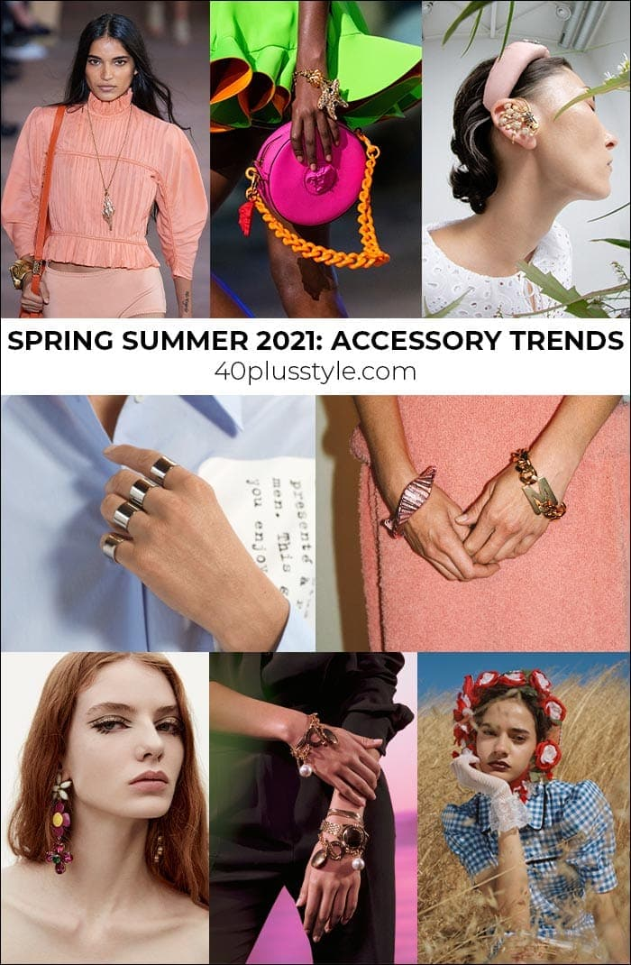 Jewelry trends 2021: the most stylish jewelries and accessories to wear for spring and summer   40plusstyle.com