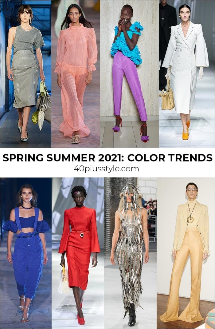 Fashion color trends 2021 - the best colors and neutrals to wear for spring and summer   40plusstyle.com