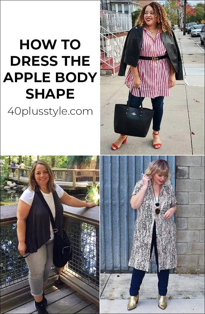 How to dress the apply body shape   40plusstyle.com