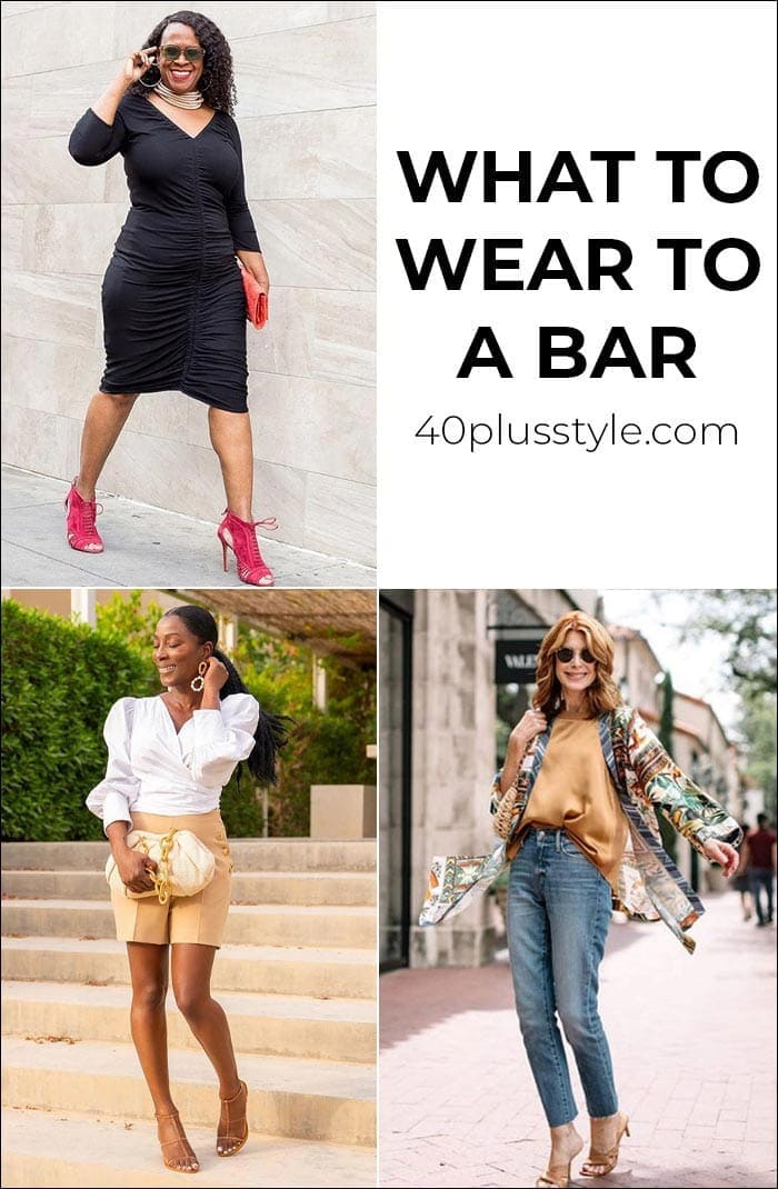 What to wear to a bar: All the bar outfits you need for your night (or day) out   40plusstyle.com
