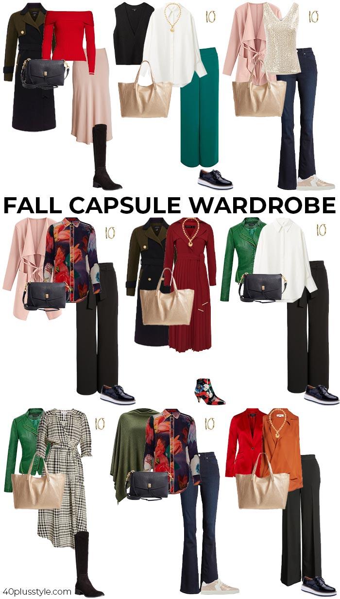 Fall capsule wardrobe 2021 | 40plusstyle.com