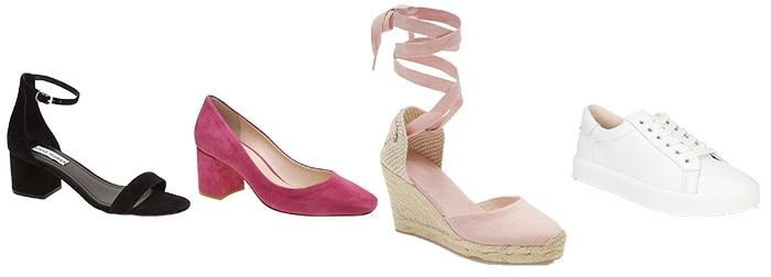 Shoes for the inverted triangle   40plusstyle.com
