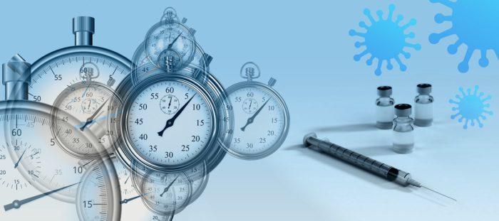 Vaccine Stopwatch Syringe Ampoule  - geralt / Pixabay