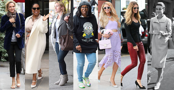 Celebrity women with bigger shoe sizes | 40plusstyle.com