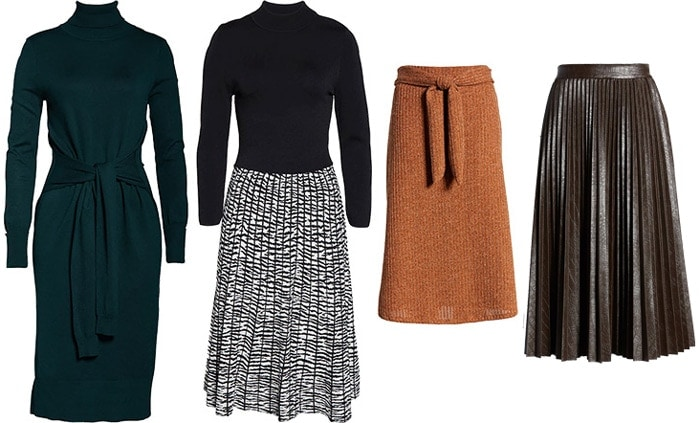 cold weather dresses and skirts   40plusstyle.com