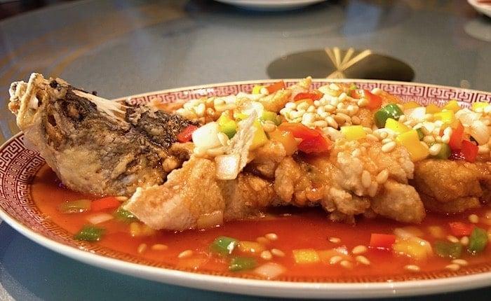 魚料理の画像