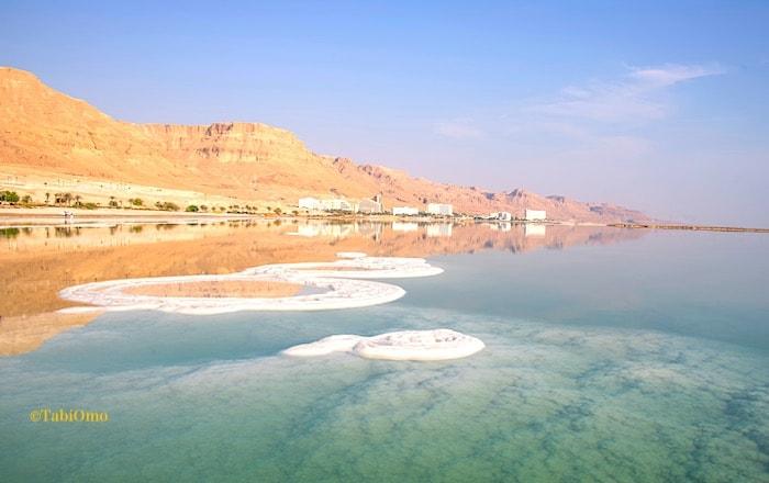死海の風景画像