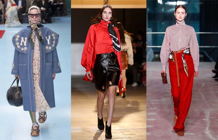 Scarves - The best accessory trends for Fall 2018 | 40plusstyle.com