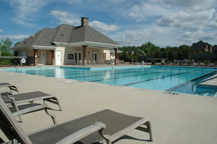 Pool management service taking care of large community pool