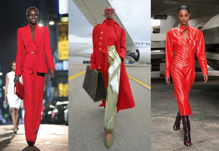 Wearing red for winter and fall / 40pluss