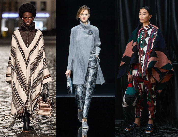 Wraps and ponchos for winter | 40plusstyle.com