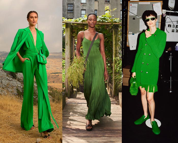 Color trends for spring - green   40plusstyle.com